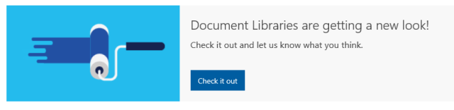 SharePoint Online New Experience Problems
